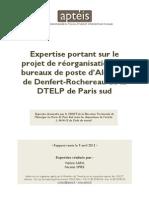 Rapport Apteis DTELP Paris Sud Avril 2013