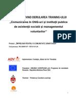 Raport Training 1 Phare 5