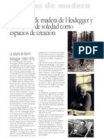 La cabaña de madera de Heidegger y otras casas de soledad