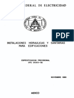 01000-32 Instalaciones Hidraulicas y Sanitarias