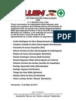 EDITAL DE CONVOCAÇÃO PARA ELEIÇÃO