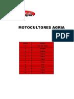 MOTOCULTORES AGRIA