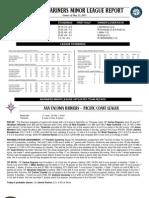 05.24.13 Mariners Minor League Report