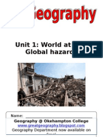 Global Hazards Edexcel AS Revision