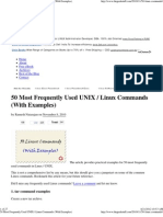 50 Most Equently Used UNIX _ Linux Commands (With Examples)