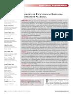 Cyberknife Treatment of Trigeminal Neuralgia