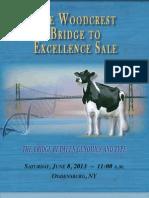 Sale Catalog - Woodcrest Bridge to Excellence