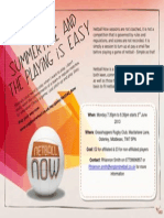 Netball Now Middx Flyer June 2013