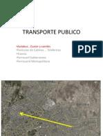 Transporte Publico Luz