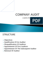 Company Audit