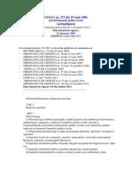 Legea 273 Din 2006 Actualizata 2011