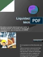 Liquidación técnica 1