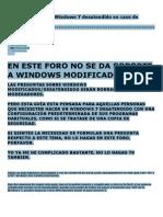 Guía para hacer un Windows 7 desatendido en caso de necesidad