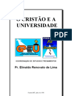 o Cristao e a Universidade