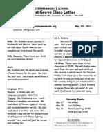Newsletter 5 24