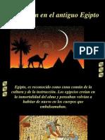 xxxxxEducación en el antiguo Egipto(presenta)