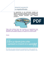 Acerca de La Esquizofrenia