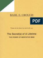 Basil Crouch - The Secret(s) of a Lifetime