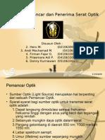 Operasi Pemancar Dan Penerima Optik