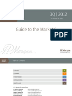 JP Morgan - Guide to the Markets - 3Q 2012