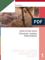 1 Criminal Justice Information