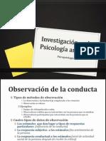 Investigación en la Psicología anormal