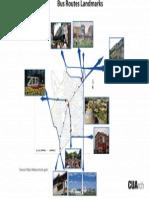 Map of Bus Routes in Adams Morgan (2013)