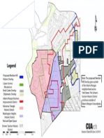 Map of Historic, Overlay and BID Districts in Adams Morgan (2013)