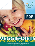 Guide to vegetarian and vegan diets for doctors