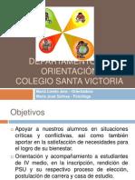 Presentación Orientacion 2012