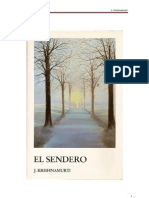 Krishnmurti, J. - El Sendero