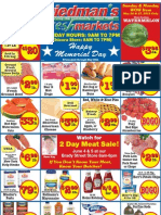 Friedman's Freshmarkets - Memorial Day Weekly Specials - May 24-27, 2013
