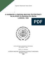 A harmadik magyar őstörténet találkozó előadásanyagai