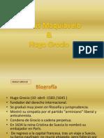 Exposicion Maquiavelo y Grocio