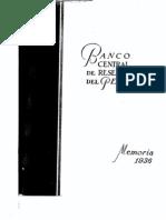 Memoria BCRP 1936