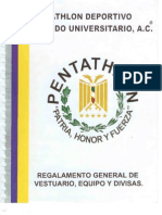 Reglamento General de Vestuario Equipo y Divisas Pdmu