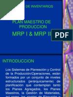Plan Maestro y Mrp