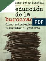 8 OSBORNE La Reduccion de La Burocracia (1)