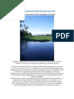 El Sistema Nacional de Áreas Protegidas de Panamá