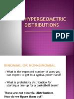 hypergeometric distributions amcphee webege com