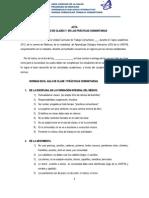 Normas de Clase 2013