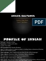 Indias Cultures Felipe Pinela