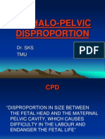22 Cephalo-pelvic Disproportion (1)
