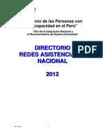 DIRECTORIO Redes Provincias 2012