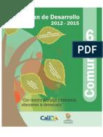 Plan de Desarrollo 2012-2015 Comuna 6