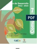 Plan de Dasarrollo 2012-2015 Comuna 7