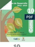 Plan de Desarrollo 2012-2015 Comuna 10