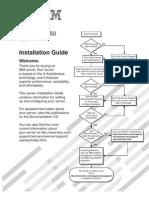 IBM X3550 1U Server Installation Guide