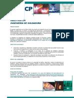 Maestría Ingenieria de Soldadura 2013