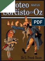 Baum, L.frank - Doroteo Kaj La Sorcxisto en Oz
